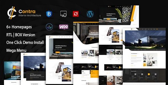 Contra | Architecture And Interior WordPress Theme - Corporate WordPress