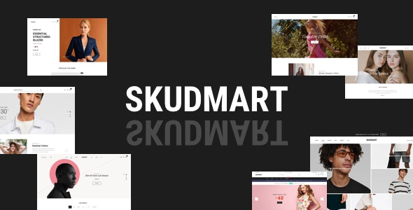 Skudmart - Clean, Minimal WooCommerce Theme - WooCommerce eCommerce