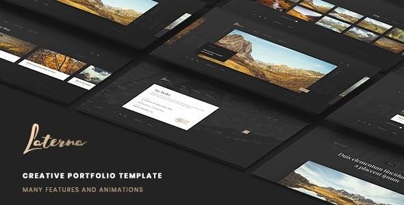 Laterna - Creative Portfolio Template - Creative Site Templates
