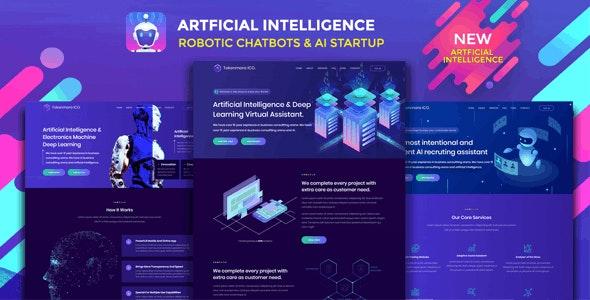 Robotizer - Technology Startup Drupal Theme - Business Corporate