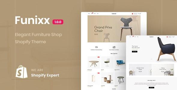 Funixx - Elegant furniture shop for Shopify - Shopify eCommerce