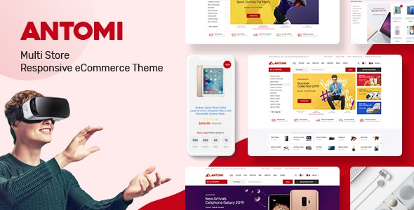 Antomi - Multipurpose Responsive Prestashop Theme - Shopping PrestaShop