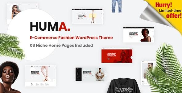 Huma – Fashion E-commerce WordPress Theme - WooCommerce eCommerce