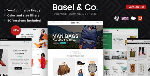 Basel - Responsive eCommerce Theme - WooCommerce eCommerce