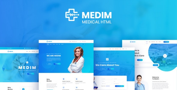 Medim - Medical and Health HTML Template - Health & Beauty Retail