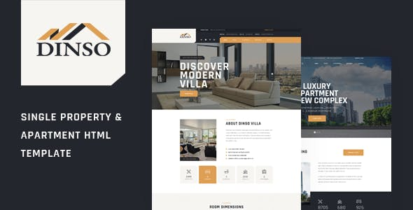Dinso | Real Estate Single Property HTML Template