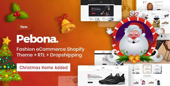 Pebona - Fashion Shopify Theme
