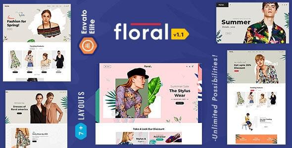 Floral 2.0 - Opencart Multi-Purpose Responsive Theme - Fashion OpenCart