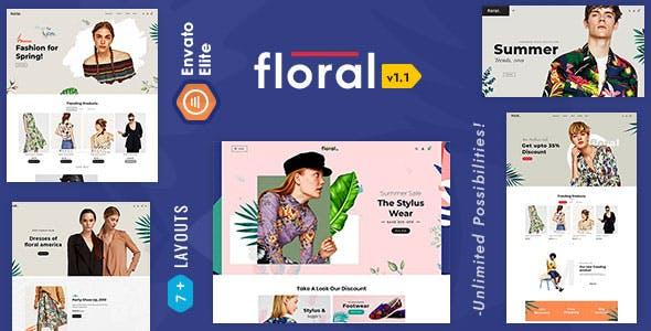 Floral 2.0 - OpenCart Multi-Purpose Responsive Theme