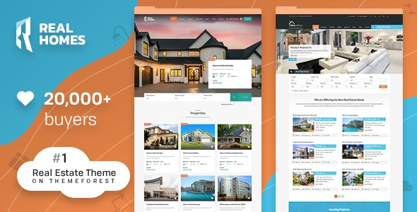 RealHomes - Estate Sale and Rental WordPress Theme - Real Estate WordPress
