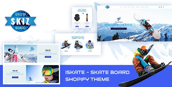Skiz | Ski Boards, Skating & Gaming Store Shopify Theme - Health & Beauty Shopify