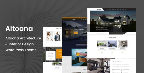Altoona - Architecture WordPress Theme - Business Corporate