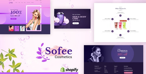 Sofee | Cosmetic Shopify Theme - Health & Beauty Shopify