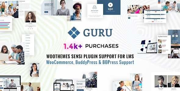Guru | Learning Management WordPress - Education WordPress