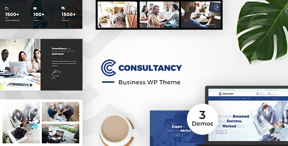 Consultancy Business, Finance Theme - Corporate WordPress