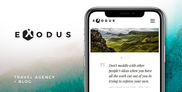 Exodus | Travel Agency & Blog - Travel Retail