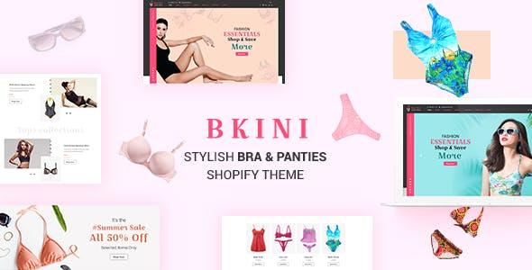 Bkini - Lingerie Shop, Bikini Shopify Theme