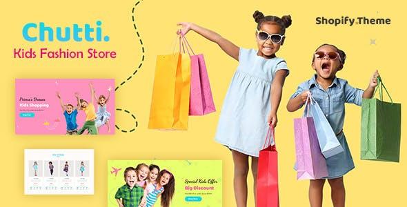 Chutti - Kids, Baby shop Shopify Theme