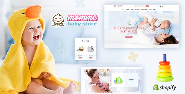 Momme - Shopify Kids Store, Baby Shop - Miscellaneous Shopify