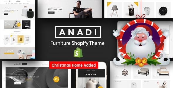 Furniture Store Shopify Theme - Anadi - Shopping Shopify