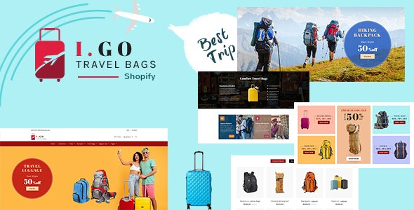 Igo | Fashion Bag Shop Shopify Theme - Shopify eCommerce