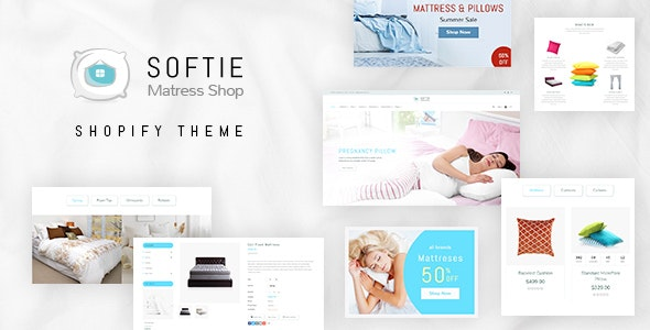 Softie | Online Beds, Pillows & Mattress Store Shopify Theme - Miscellaneous Shopify