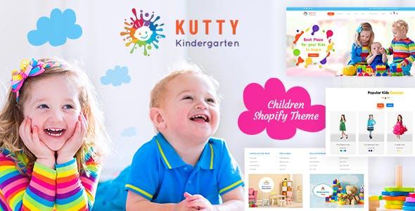 Kutty Kids | Children Shop Shopify Theme