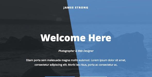 James - Responsive Email + Online Template Builder