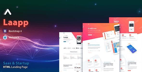 Laapp - App Landing Page