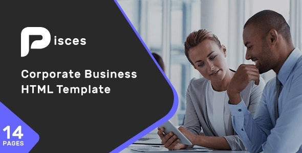 Pisces - Corporate Business HTML Template - Creative Site Templates