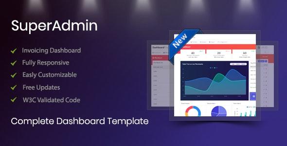 Super Admin - Admin Templates Site Templates