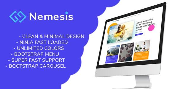 Nemesis | Responsive Minimal Blogger Theme - Blogger Blogging