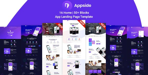 App Landing Page - Appside