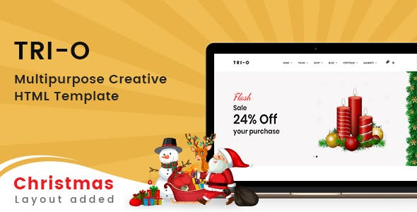 Tri-O - Bootstrap 4 Multipurpose Creative HTML Template