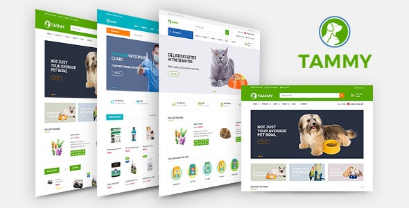 Tammy - Pet Care Shopify Theme - Shopping Shopify