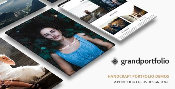 Grand Portfolio WordPress - Portfolio Creative