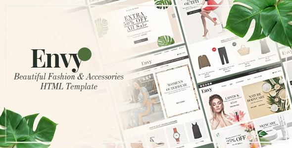 Envy - Multipurpose HTML Template - Shopping Retail