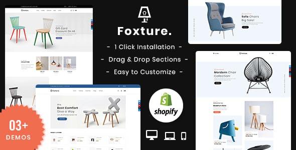 Foxture – Furniture Shopify MultiPurpose Theme