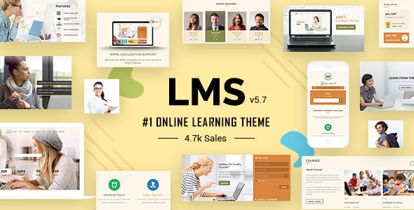LMS WordPress Theme, Learning Management System and Education - Education WordPress