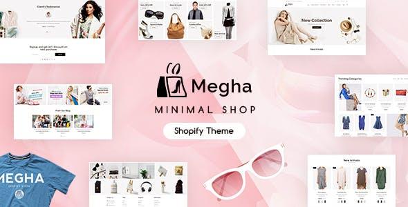 Megha - Minimal Shopify Store
