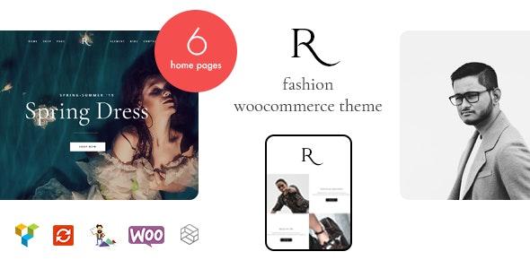 Rion - Fashion WordPress Theme for WooCommerce - WooCommerce eCommerce
