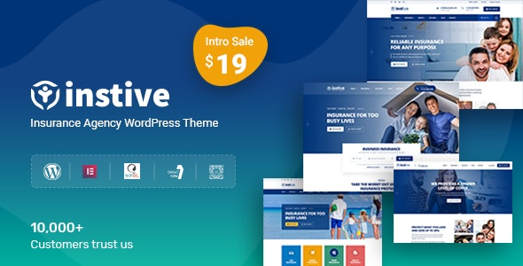 Instive - Insurance WordPress Theme - Miscellaneous WordPress
