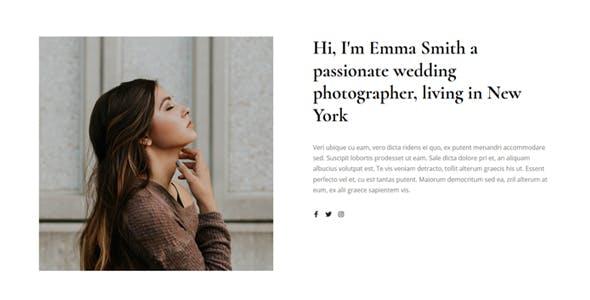 Gleam - Portfolio Photography HTML Template