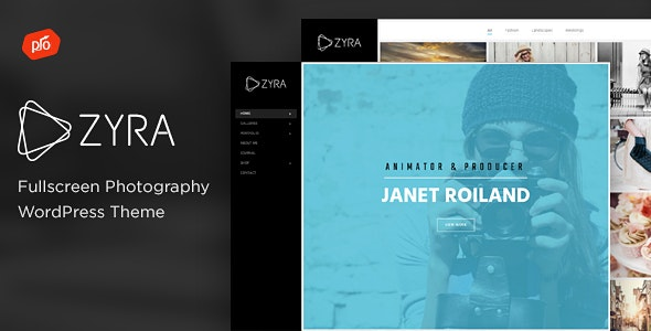 Zyra - Fullscreen Photography Theme - Photography Creative