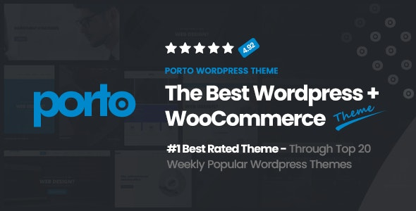 Porto Multipurpose Woocommerce Theme By P Themes