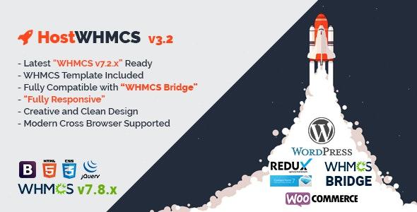 HostWHMCS | Responsive Hosting and WHMCS WordPress Theme - Hosting Technology
