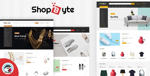 ShopByte - Multipurpose Prestashop 1.7 Responsive Theme - Shopping PrestaShop