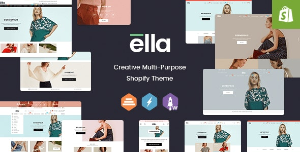 Ella - Responsive Shopify Template (Sections Ready) - Fashion Shopify
