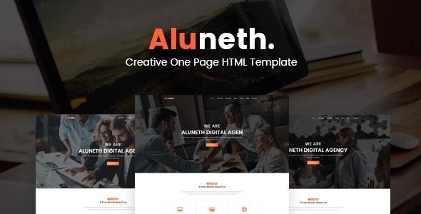 Aluneth - Creative Multipurpose HTML Template - Creative Site Templates