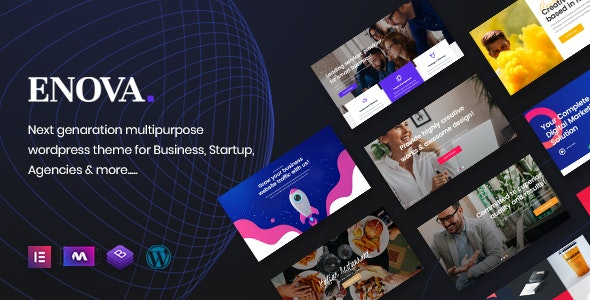 Enova - Multipurpose Business WordPress Theme - Business Corporate